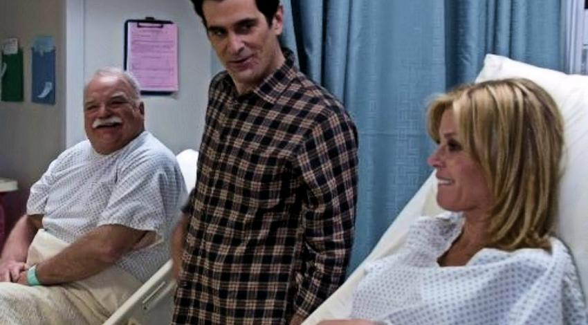 "Richard Riehle, Julie Bowen, Ty Burrell | ""Modern Family"" (2013)"