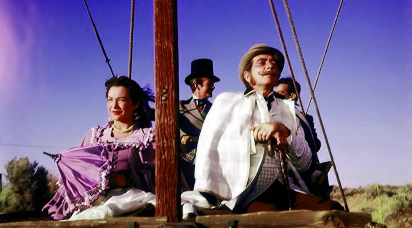 "Cantinflas, Robert Newton, David Niven, Shirley MacLaine | ""Around the World in 80 Days"" (1956) *"